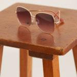 1970s-style oversized sunglasses at Mango
