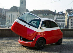 Bubble car returns with the Microlino micro car