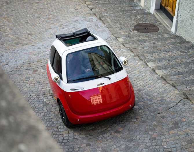 Bubble car returns with the Microlino micro car