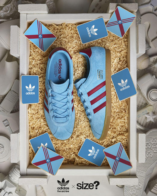 reissues Adidas Trimm Star trainers in