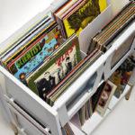 LP-H retro vinyl console by Wax Rax