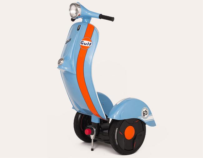 Vespa-style Z-Scooter by Bel & Bel Studio