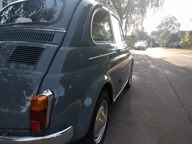 1965 low mileage Fiat 500 on eBay