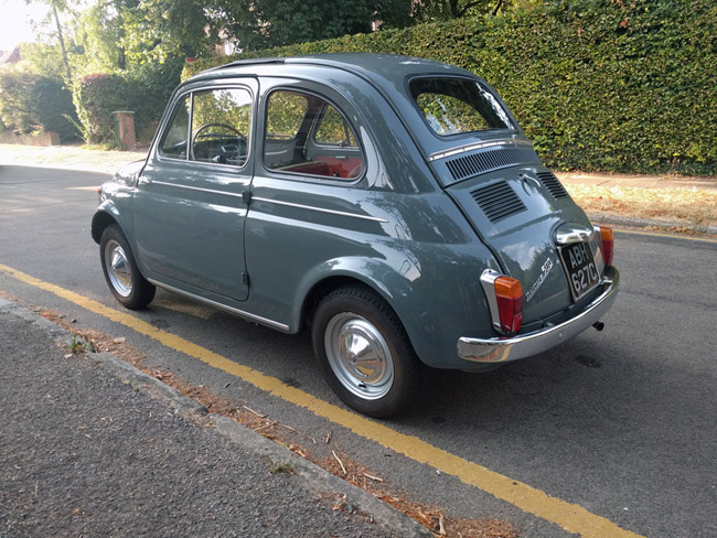 1965 low mileage Fiat 500 on eBay