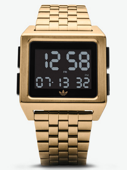 Back to the 1970s: Adidas Archive M1 watches
