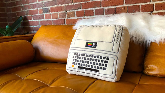 Iconic Apple cushion collection by Throwboy