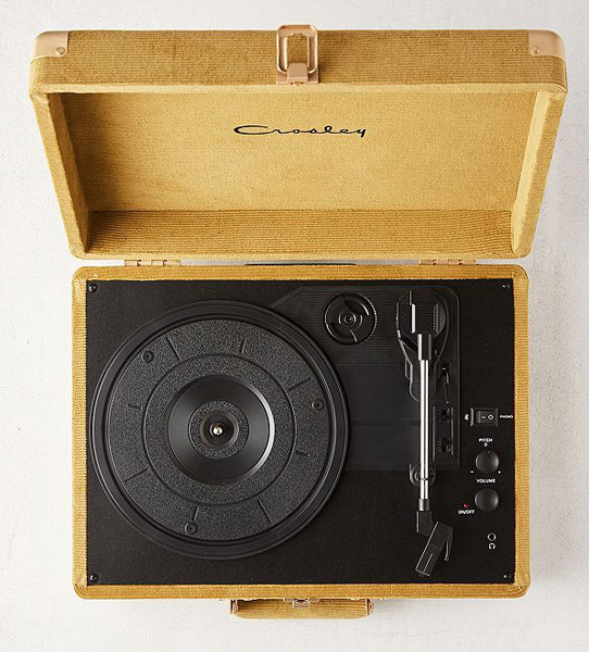 Crosley Cruiser record players get a corduroy finish