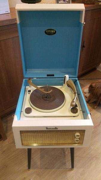 Original 1950s Dansette Major Deluxe record player on eBay