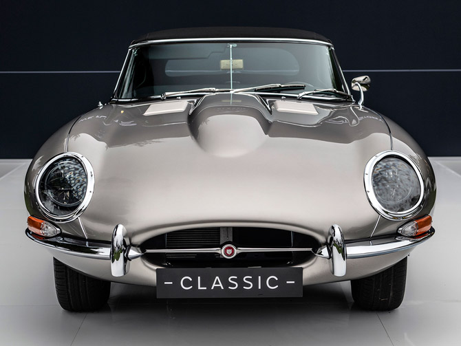 Old meets new: Electric E-Type Jaguar to go into production