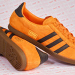 Size? gives Adidas Trimm Star trainers a pumpkin makeover