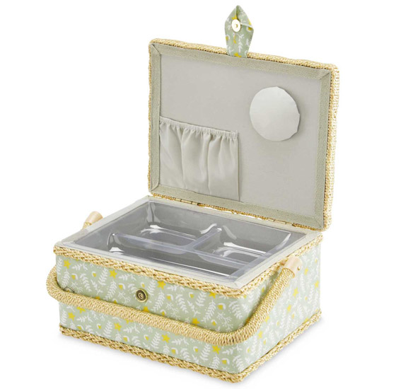 Vintage-style sewing boxes are a Special Buy at Aldi
