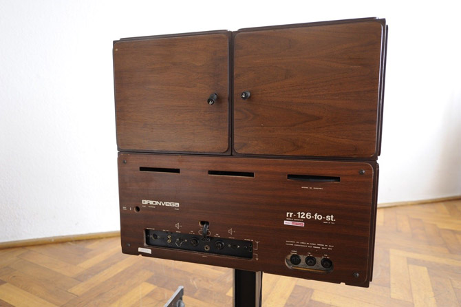 Rare 1960s Brionvega Radiofonografo record player on eBay