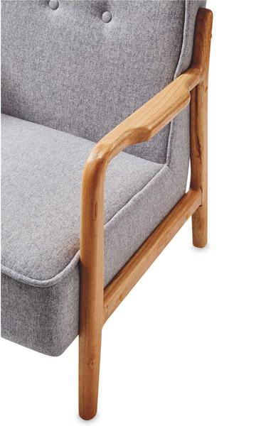 Midcentury-style Kirkton House armchair at Aldi