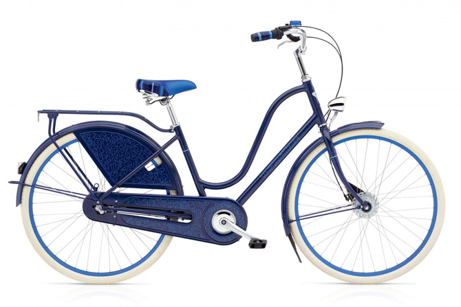 Electra Amsterdam three-speed retro city bike range