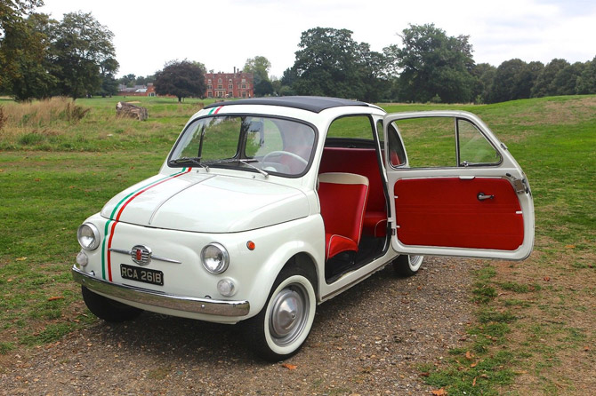 Fully restored 1964 Fiat 500 D Nova on eBay