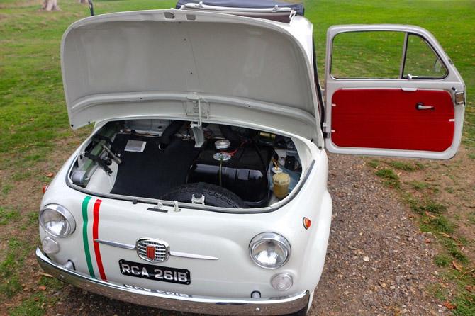 Fully restored 1964 Fiat 500 D Nova on eBay
