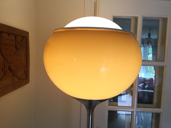 1960s Guzzini Grande Bud floor lamp on eBay