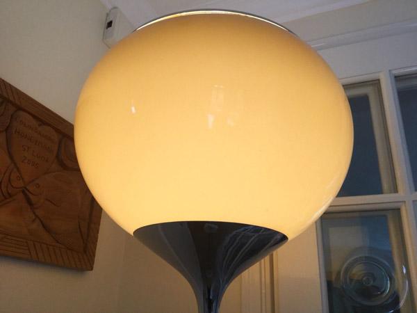 1960s Guzzini Grande Bud floor lamp on eBay