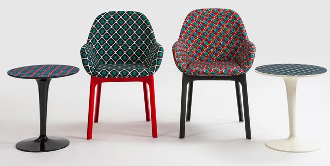 Kartell x La Double J retro furniture range
