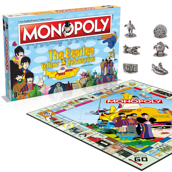 The Beatles Yellow Submarine Monopoly launches
