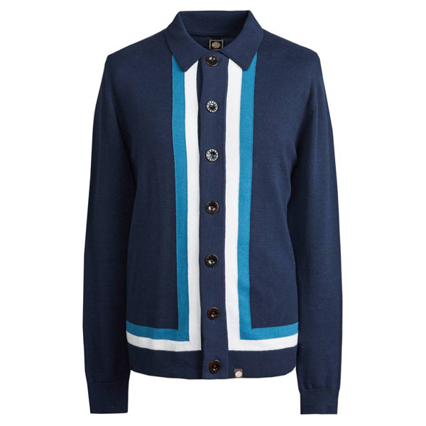 1960s-style contrast panel tops at Pretty Green