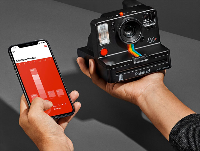 Old meets new with the Polaroid OneStep+ i-Type camera