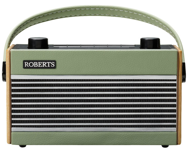 1970s Roberts Rambler DAB radio gets a colourful makeover