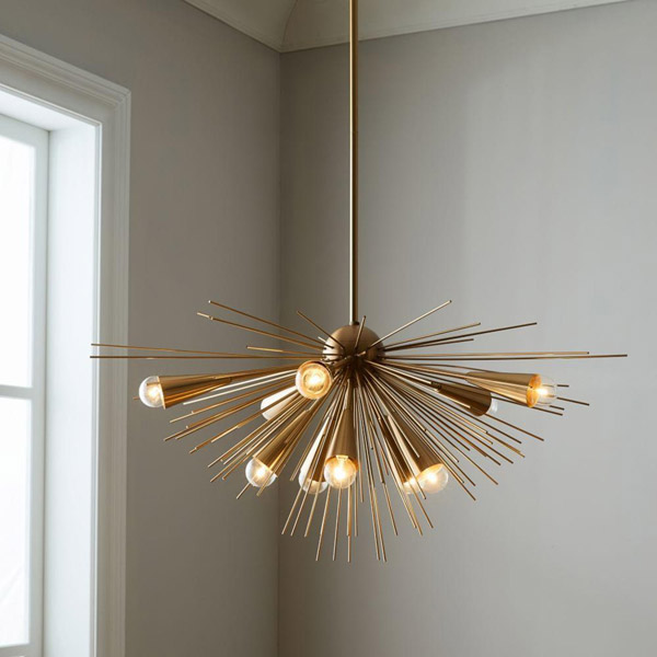 New at West Elm: Retro-style Sputnik Chandelier