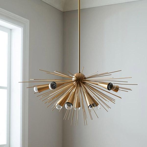 New at West Elm: Retro-style Sputnik Chandelier