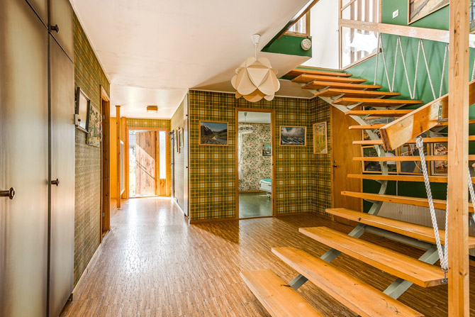 For sale: 1970s modernist time capsule in Sundsvall, Sweden