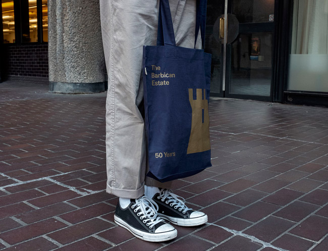 The Barbican Estate limited edition tote bag