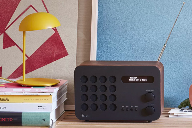 Eames Radio by Charles and Ray Eames reissued by Vitra