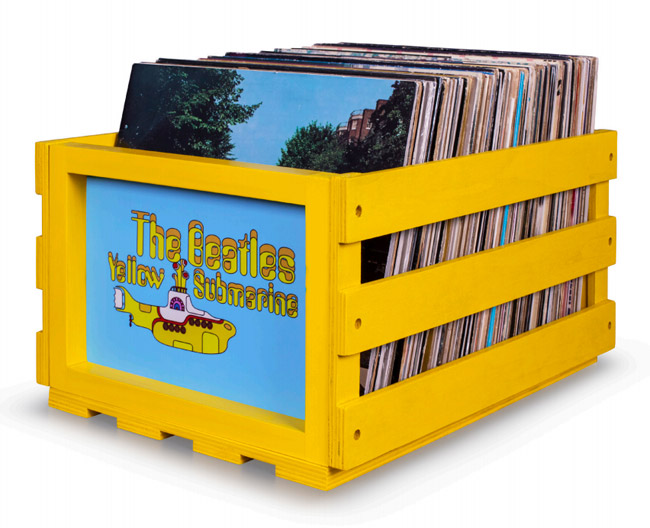 Coming soon: Crosley x The Beatles vinyl accessories range