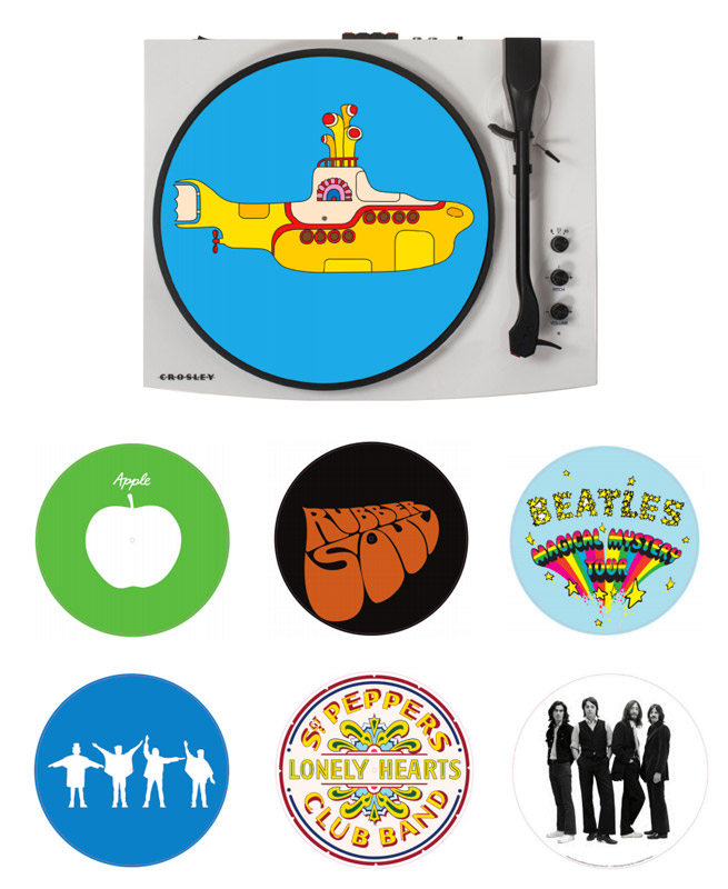 Coming soon: Crosley x The Beatles vinyl accessories range