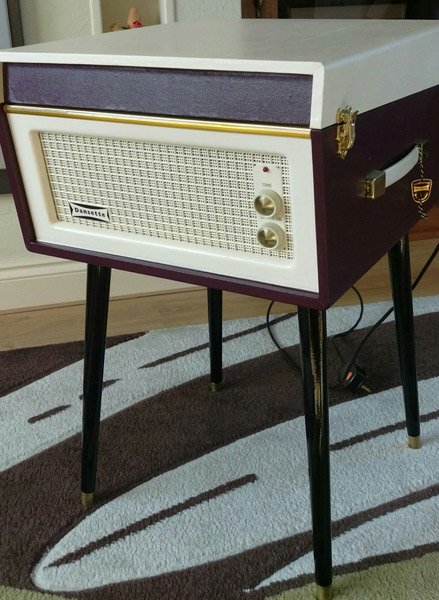 Original 1960s Dansette Bermuda record player on eBay