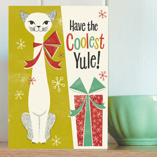 1950s Honey, It's Christmas! cards by Pennychoo