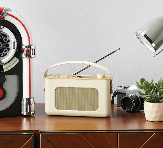 Reka 1960s-style DAB radio at Aldi