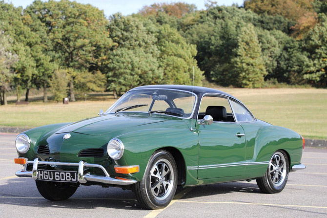 Immaculate 1970 Volkswagen Karmann Ghia car on eBay
