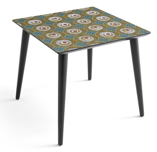 Nomado retro printed coffee tables at La Redoute