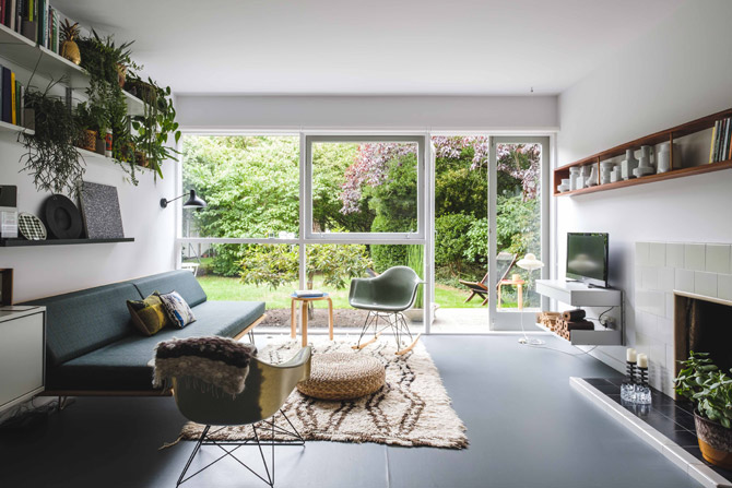 For sale: 1950s apartment in the Parkleys development in Richmond upon Thames, Surrey