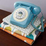 Budget vintage-style Reka home telephones at Aldi
