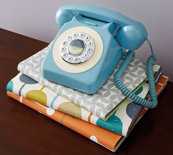 Budget vintage-style Reka home telephones at Aldi