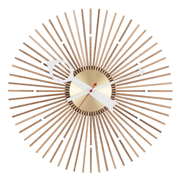 1950s George Nelson Popsicle Clock reissued
