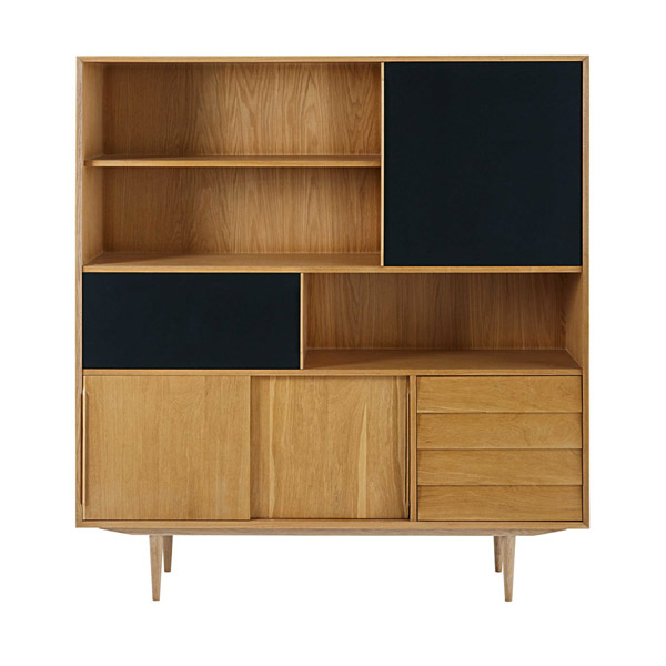 Sheffield midcentury modern display units at Maisons Du Monde