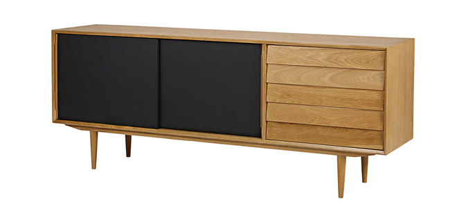 Sheffield midcentury modern display units at Maisons Du Monde