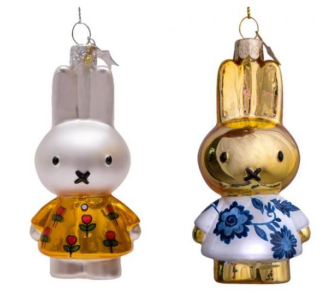 10. Miffy Christmas decorations