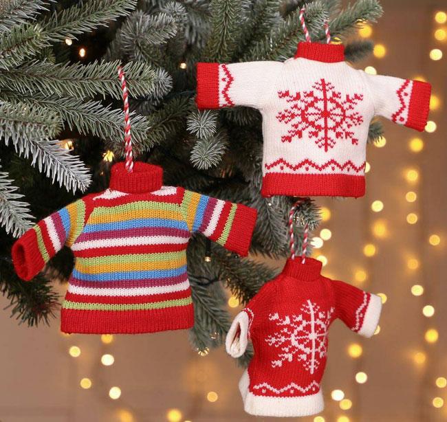 23. Retro Christmas jumper decorations