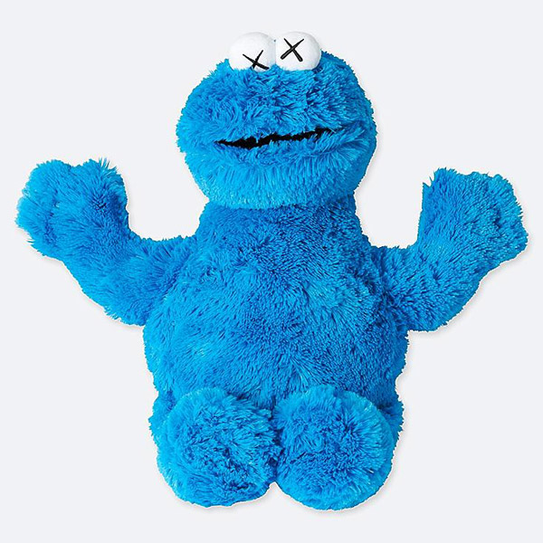 KAWS x Sesame Street toys now available at Uniqlo
