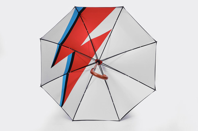 Aladdin Rain Bowie-inspired umbrella by London Undercover