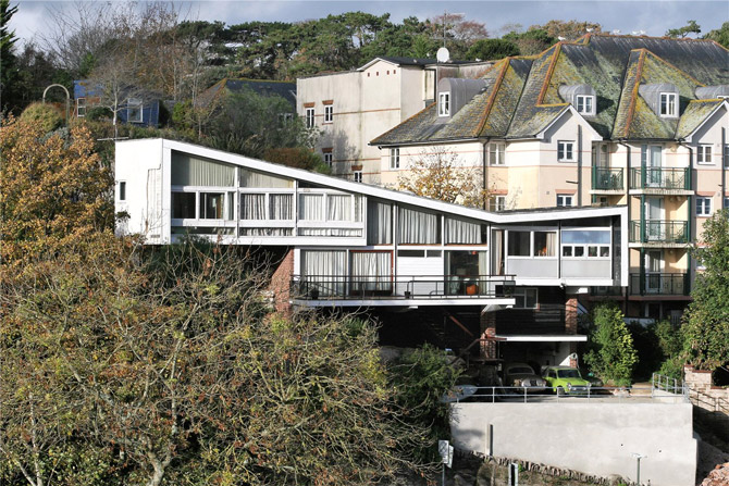 For sale: Mervyn Seale's 1960s Parkham Wood House in Brixham, Devon